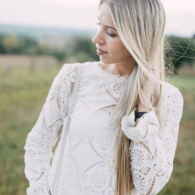 NEW Post on FASHIONBLONDE ich liebe diese Bluse von vilaglobalhellip