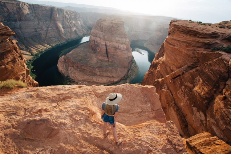 Horseshoe Bend Page Arizona Grand Canyon Travelblog Reiseblog Arizona USA  Fashionblog Travel Blog Deutscher Blogger blond Modeblag Fashionblog Lifestyle Beauty Hair Haare Roadtrip USA 2016 Roadtrippers Reiseblog Blogger Deutscher Blog Modeblog Fashionblonde Blonde blond