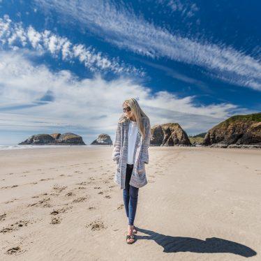 Oregon – Cannon Beach & Cardigan von Fox´s
