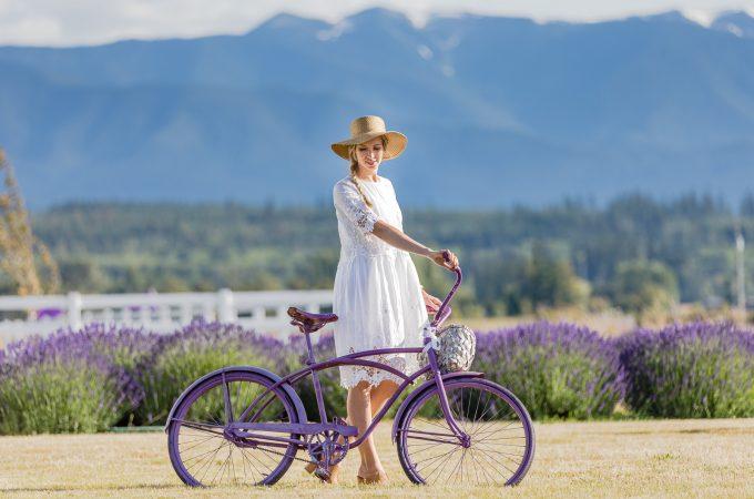 Washington – Lavendel Farm & weiße Sommerkleider
