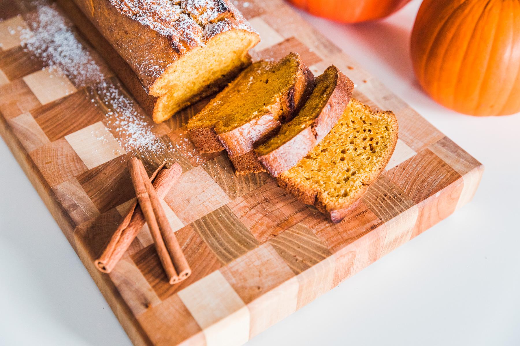 Rezept Fur Pumpkin Bread A La Starbucks Kurbiskuchen