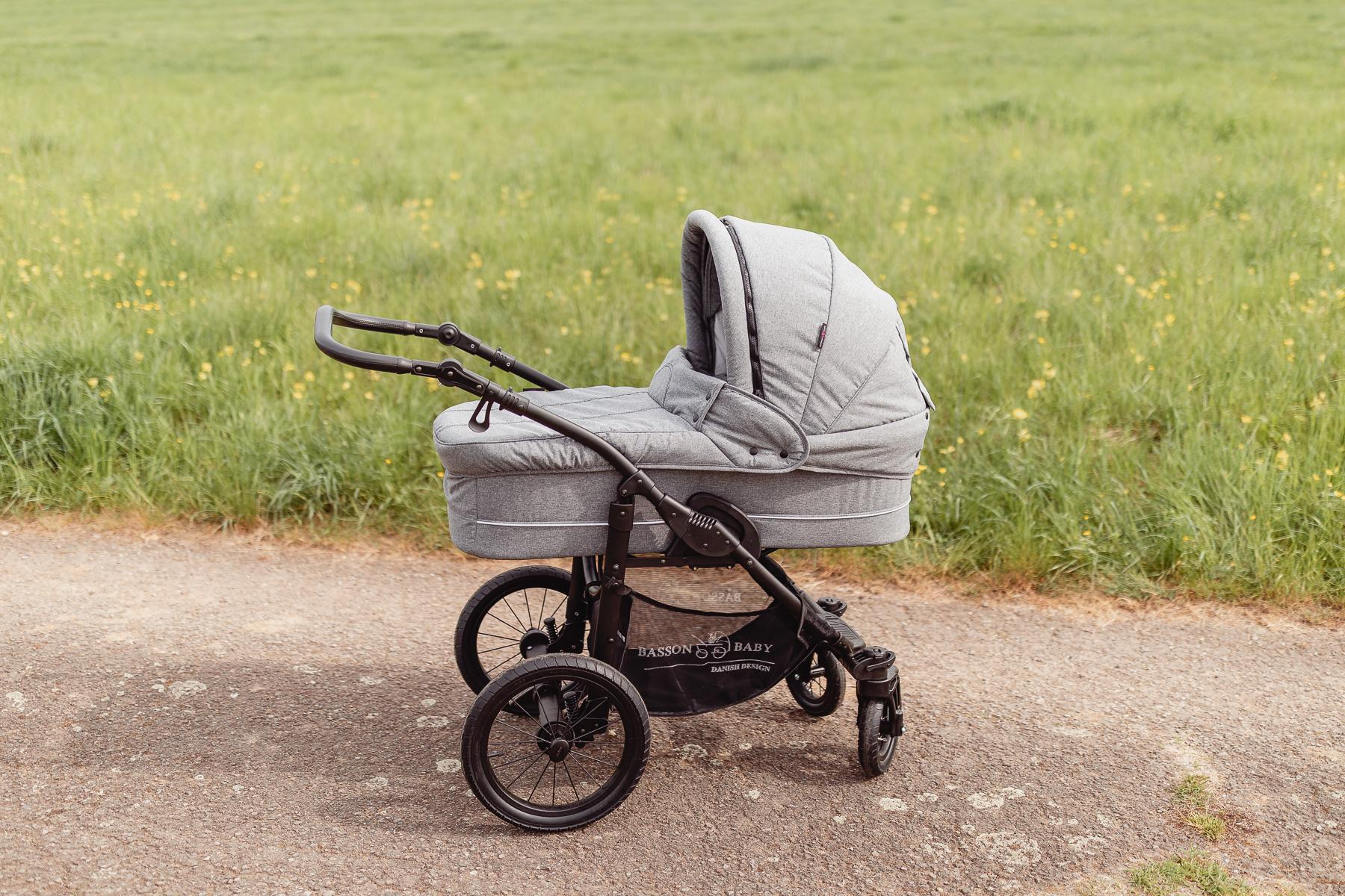 erstausstattung f rs baby kinderwagen nordic lux von basson baby. Black Bedroom Furniture Sets. Home Design Ideas