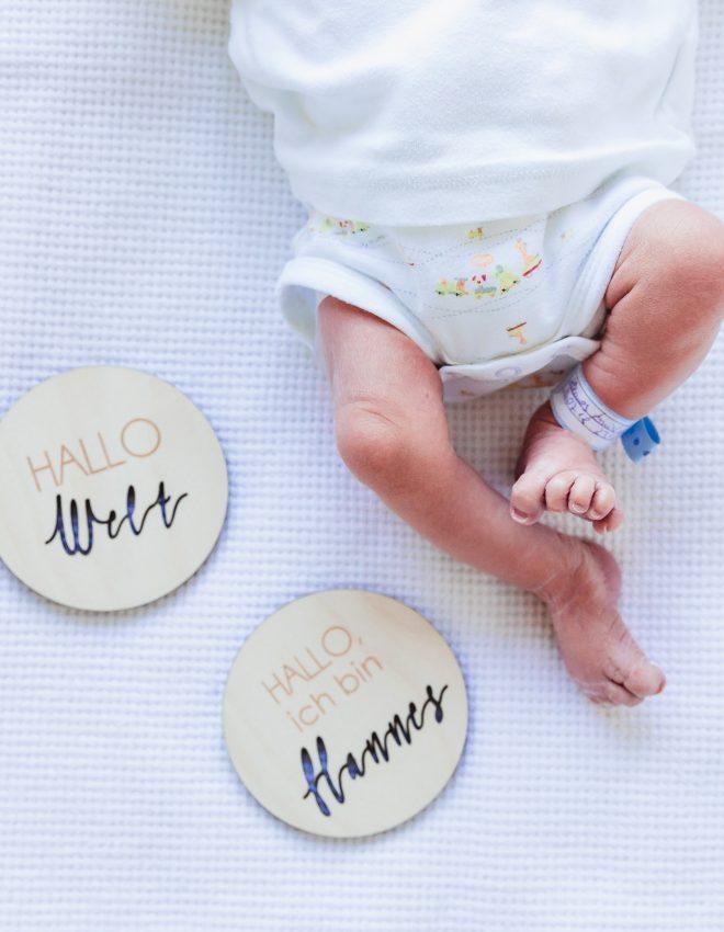 Geburtsbericht Teil 2 – Erster Brief an Hannes Louis