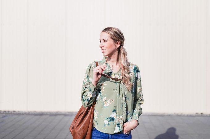 Herbstlook: Erster Fashionpost nach der Schwangerschaft
