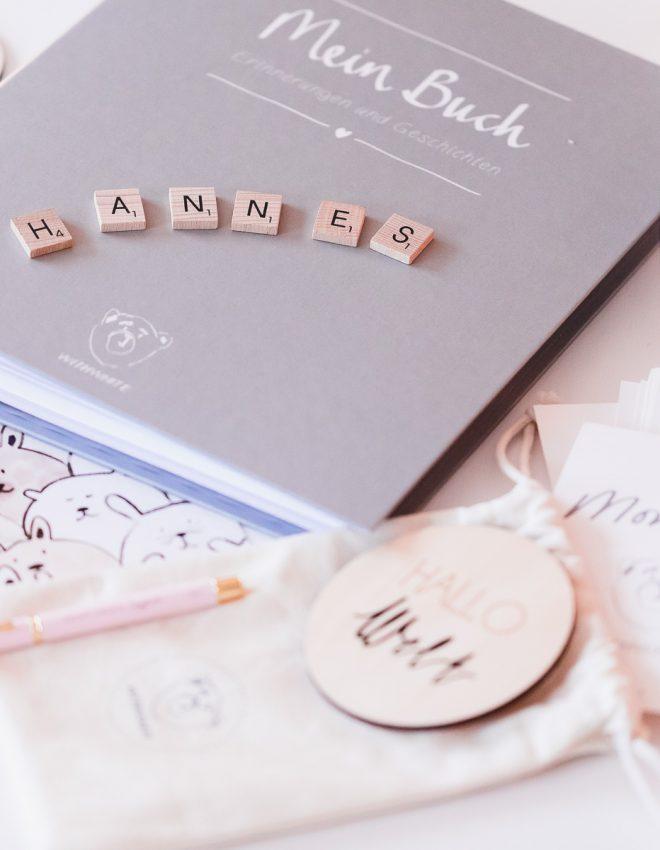 Erinnerungen von Babyzeit und Kindheit festhalten mit WITHWHITE