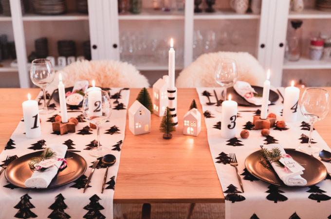 DIY: Skandinavische Tischdeko zu Weihnachten