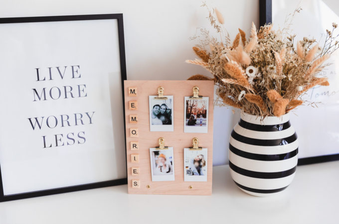 DIY mit instax Mini Teil 2: Tischkalender & Memory-Board