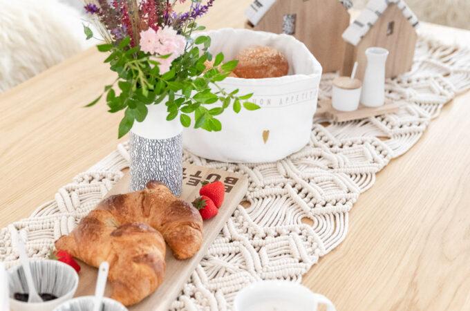 Kleine Frühstückspause mit räder design